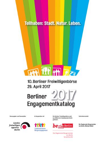 Berliner Engagementkatalog 2017