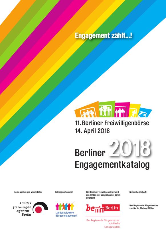 Berliner Engagementkatalog 2018